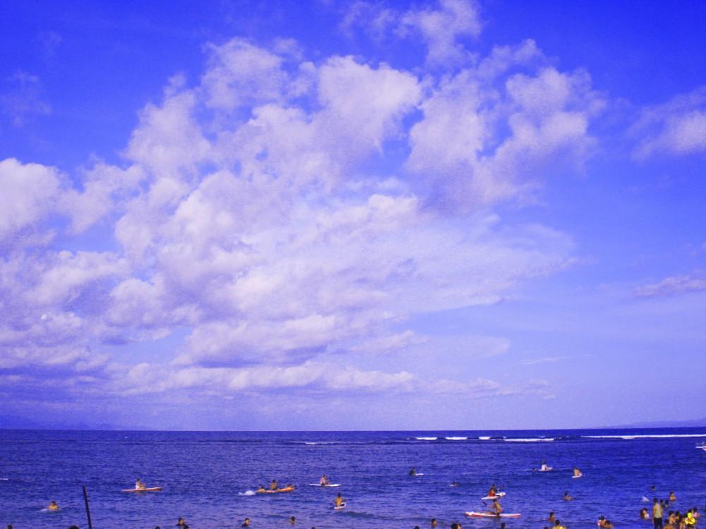 Langit masih biru