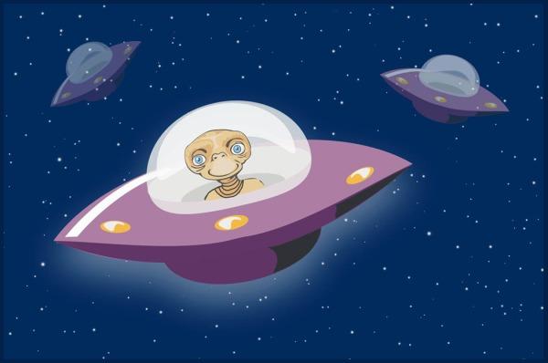 UFO - Percaya tidak?