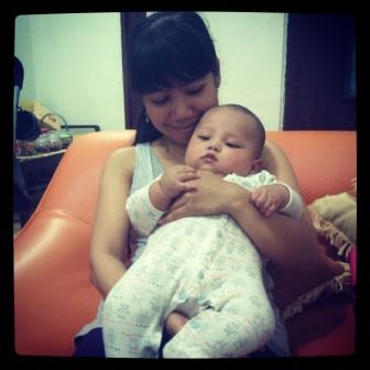 Latihan Menjadi Mommy :)