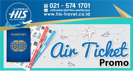 air ticket promo